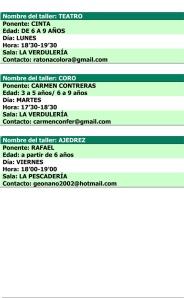 Talleres 2013-14